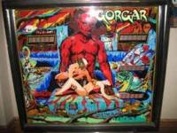 "Gorgar pinball machine GORGAR ""Enter the lair of"