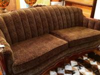 This gorgeous early 1900's couch is a must see. One of