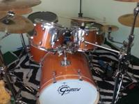 I am selling my beloved gretsch drumset, require money