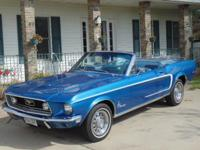 You are looking a Gorgeous Blue on Blue Mustang