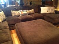 Type: Furniture Type: Sectional Beautiful Chocolate