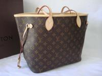 100% Authentic no odor no damage. Includes all LV