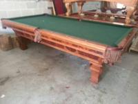 Gorgeous Brunswick Sorrento 9' Pool Table Description:
