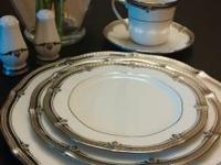 I have a full 6 place setting china set for sale Brand: