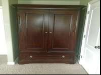 This armoire is in perfect condition. No dings or