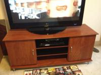 Virtually brand-new home entertainment center with DVD