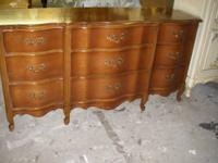 Gorgeous French Provincial Triple Dresser in Solid