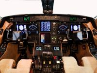 The Gulfstream IV-SP is a spacious corporate jet
