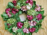 This bold and beautiful wreath is made up of preserved