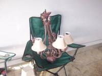 Beautiful Chandelier. Very good condition. see