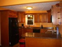 KITCHEN AREA CABINETS NEVER INSTALLED, ALL SOLID WOOD
