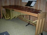 Gorgeous five-octave Malletech marimba. The choice of