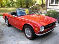 1971 Triumph TR6 - Ready to reveal and drive. Long-time