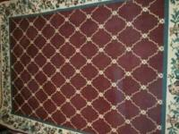 Beautiful Rug, in GREAT shape! No stains. Gently used.