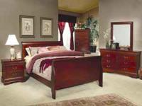 I have a brand New gorgeous Cherry Sleigh Bed and a New