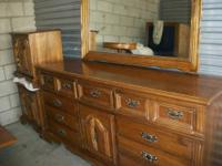 Antique Bedroom Set In Birdseye Maple For Sale In Sun City