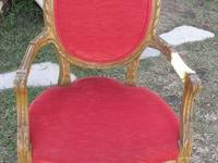 GORGEOUS VINTAGE FRUITWOOD PARLOR CHAIR ELEGANT YET