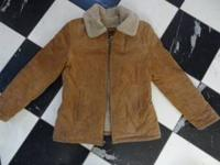 WINLIT Ladies Genuine Leather Shearling/Jacket