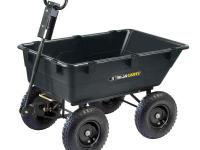 This Gorilla Carts Heavy-Duty Dump Cart is the perfect