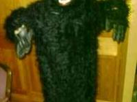 Gently used Gorilla Halloween Costume for sale $40.00