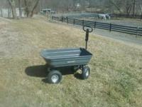 I have for sale a brand new Gorilla Garden Dump Cart.