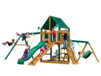The Frontier Supreme CG Swing Set by Gorilla Playsets