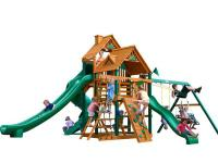 The Great Skye II Swing Set by Gorilla Playsets has all