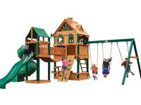 The Woodbridge play set is a large set with many play