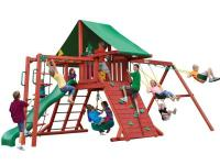 The Sun Valley II Play Set features a covered