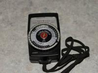 Gossen Luna Pro-F exposure meter. Measures reflective,