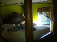 Huge Huge bed, BED ONLY NOT SET!!! Call or text