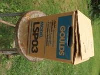 Heres a new/never used Gould's LSPO3 sump pump