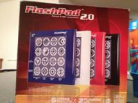 I have some great electronic FlashPad 2.0 games, new,