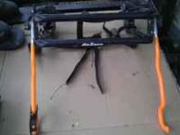 I have a used Graber truck mount bike rack. 20.00 Call