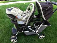 The Graco DuoGlider LX Stroller in Pippin- 5 point