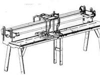 Grace Machine Quilter. Amazing wooden frame system for