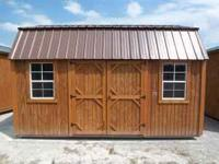 Get a brand new Graceland 10' x 16' Side Lofted Barn
