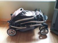 I have a double stroller for sale. Front is a regular