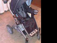 Stroller is in good condition. Has minor scratches from