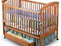 Graco 4 in 1 crib [with drawer underneath]. 1. crib 2.