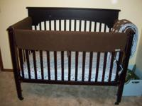 Graco baby crib for sale. $75.00 obo. Color is
