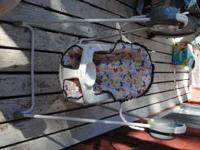 A perfect swing for your little one! My daughter never