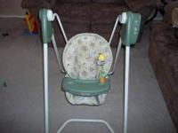 I am selling a graco winnie the pooh baby sing that is