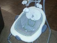 I have a carefully made use of Graco swing and soother