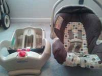 This is a very nice, used graco car seat with reclining
