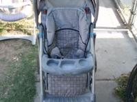 I hae a slightly used Graco Collapsable Baby Stroller