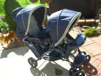 Graco double stroller. Great condition.Seats sit up or