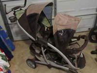 This graco double stroller is a wonderful item to have