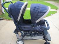 Graco Duo LTD II double tandem stroller for $40.