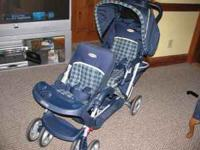 Graco Double DuoGlide stroller-excellent condition,